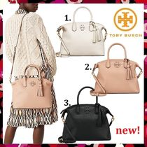 新作 セール Tory Burch McGraw Slouch Satchel 2way 大人気