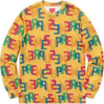 18SS Supreme Letters L/S Top 送料無料