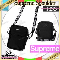 【18SS】Supreme Shoulder Bag Box Logo ショルダーバッグ 黒