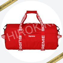 【18SS】36L★Supreme Duffle Bag 小 ダッフルバッグ Red 赤