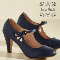 送料関税込◆modcloth☆Mary Jane Heel in Navy