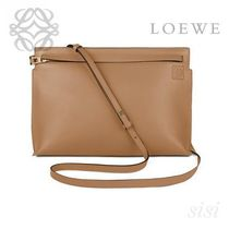 LOEWE★ロエベ T Pouch Bag Mink Color