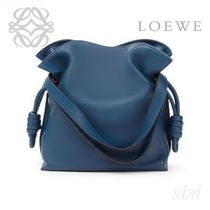LOEWE★ロエベ Flamenco Knot Small Bag Indigo