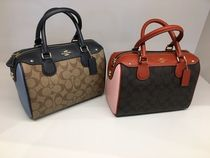 【COACH】新作☆シグネチャー MINI BENNETT SATCHEL 2way F26154
