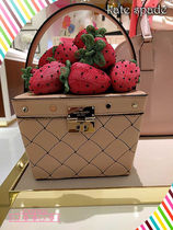 山盛りイチゴバック!kate spade★ PICNIC  STRAWBERRY BASKET