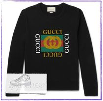 GUCCI グッチ ロゴ ロングスリーブ Tシャツ カットソー