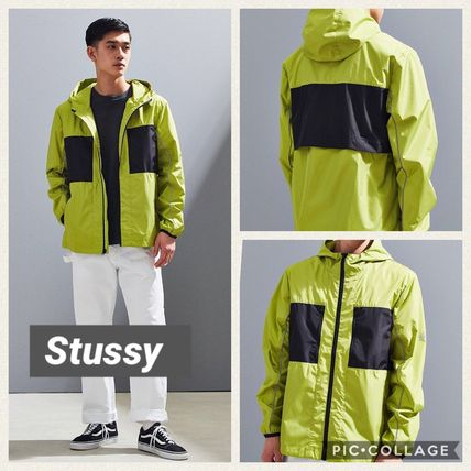 ☆国内完売済☆大人気STUSSY 3M Nylon Paneled Jacket☆