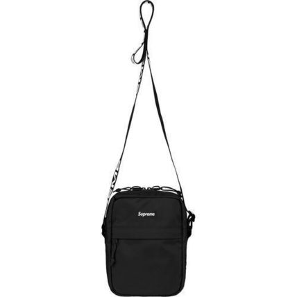 18S/S Supreme 1050D Cordura Ripstop Nylon Shoulder Bag Black