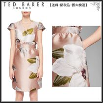 【関税込】TED BAKER ドレス☆Laraine Chatsworth Jacquard Ruff