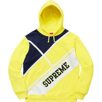 Supreme Diagonal Hooded Sweatshirt