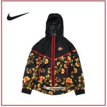☆国内正規品☆NIKE AS W NSW WR JKT AOP FLORAL BLACK ナイキ