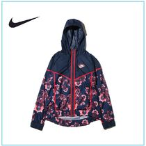 ☆国内正規品☆NIKE AS W NSW WR JKT AOP FLORAL THUNDER BLUE