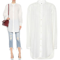 18SS WSL1219 OVERSIZED BAND COLLAR BLOUSE