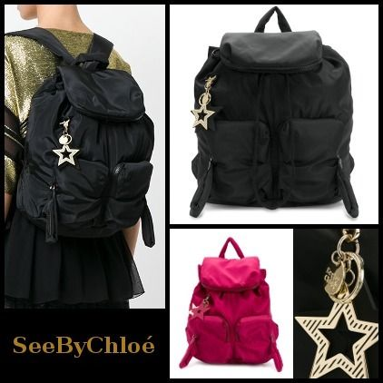 See by Chloe バックパック・リュック 【関送込】SS18◆See by Chloe◆large Joyrider nylon backpack