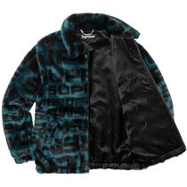 18SS Faux Fur Repeater Bomber Style ファー ジャケット
