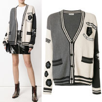18SS WSL1232 EMBELLISHED COTTON KNIT CARDIGAN