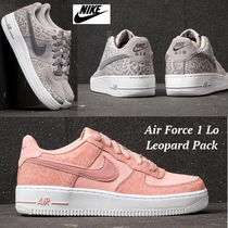 限定!!大人も履ける♪◆NIKE◆Air Force 1 Lo GS Leopard Pack