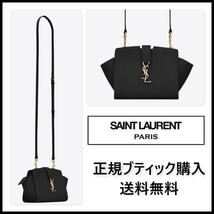 【正規店購入】TOY YSL BLACK LEATHER CABAS BAG