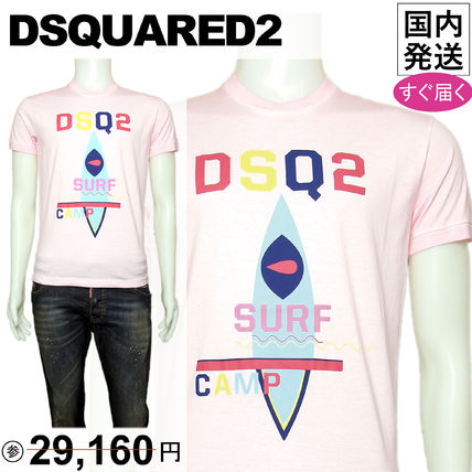 DSQUARED2 Tシャツ T-SHIRTS ピンク S71GD0632
