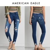 American Eagle Outfitters(アメリカンイーグル) デニム・ジーパン ☆American Eagle ☆ 9778 Trans chewed hr jegging cece dfx