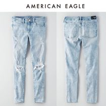American Eagle Outfitters(アメリカンイーグル) デニム・ジーパン ☆American Eagle ☆ 9636 Lt destroy 4way ellie jegging pants