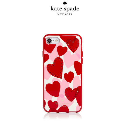 kate spade Jeweled Heart iPhone 7/8 Case