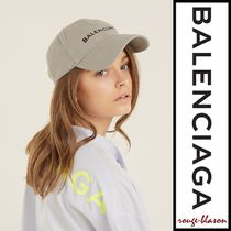 【国内発送】Balenciaga キャップ Logo-embroidered cotton cap