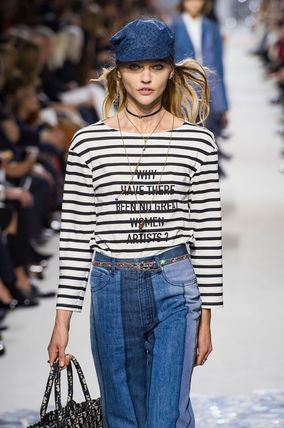 Dior Tシャツ・カットソー 2018 RUNWAY DIORを絶対入手★Why Have There Been No Great....