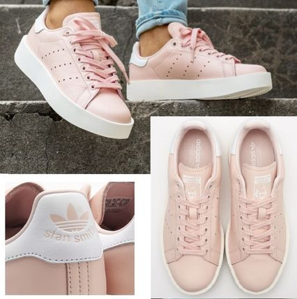ADIDAS ORIGINALS☆STAN SMITH BOLD W ピンク 厚底 BY2970