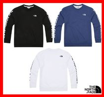 18SS★ [THE NORTH FACE]  ☆LETTERING SWEATSHIRTS★2色☆