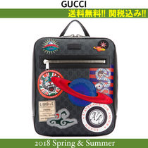 18SS,関税込★GUCCI(グッチ) Night Courrierバックパック