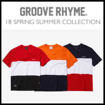 GROOVE RHYME(グルーヴライム) Tシャツ・カットソー 人気商品[GROOVE RHYME]-2018 3 BLOCK T-SHIRTS OVER FIT