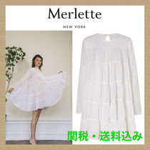 【Merlette】SOLIMAN DRESS white