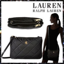 LAUREN★Bainbridge Tara Medium Crossbody ブラック★SALE!