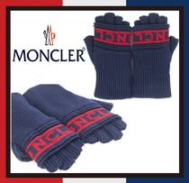 【MONCLER】BICOLOUR GLOVES ★ロゴマーク★手袋