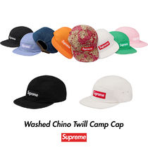Supreme Washed Chino Twill Camp Cap 18SS シュプリーム