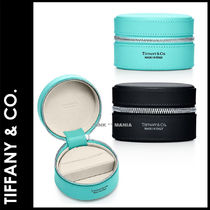 ★追跡&関税込【TIFFANY & CO】Round Jewelry Case