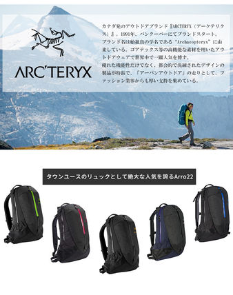 ARC'TERYX バックパック・リュック 国内*即日発送◆アークテリクス ARRO22 アロー22 Sapphaire(2)