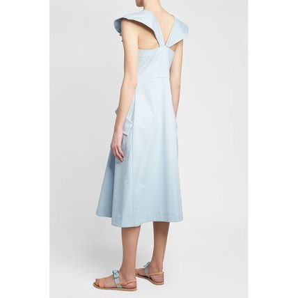 CARVEN ワンピース CARVEN(カルヴェン)★Ruched Cotton Dress(2)
