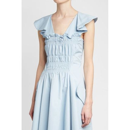 CARVEN ワンピース CARVEN(カルヴェン)★Ruched Cotton Dress(3)