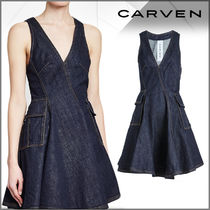 CARVEN(カルヴェン)★Denim Mini Dress