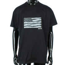GIVENCHY 17AW アメリカ・フラッグ Tシャツ_BLACK