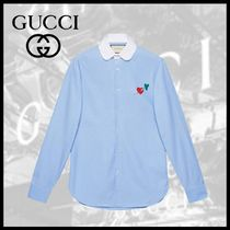 GUCCI ハートプリント シャツ