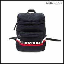 【関税/送料込】MONCLER YANNICK JUNIOR BLUE BACKPACK 大人もOK