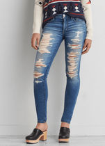 【送料無料】9501 Cece super destroy jegging