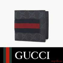 【国内発送】GUCCI 財布 Web GG supreme billfold wallet