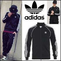 ☆adidas Men's Superstar Track TopトラックジャケットBLACK ☆