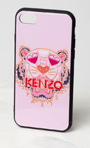KENZO iPhone 7,8, plus タイガー ハート 限定 ピンク 追跡発送