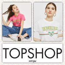 ☆送・関込み☆TOPSHOP ☆'Honolulu' Motif T-Shirt
