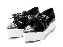 【関税負担】 MIUMIU METAL TOE SLIP-ON